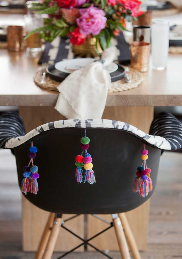 Details for the decoration of the Mexican dinner