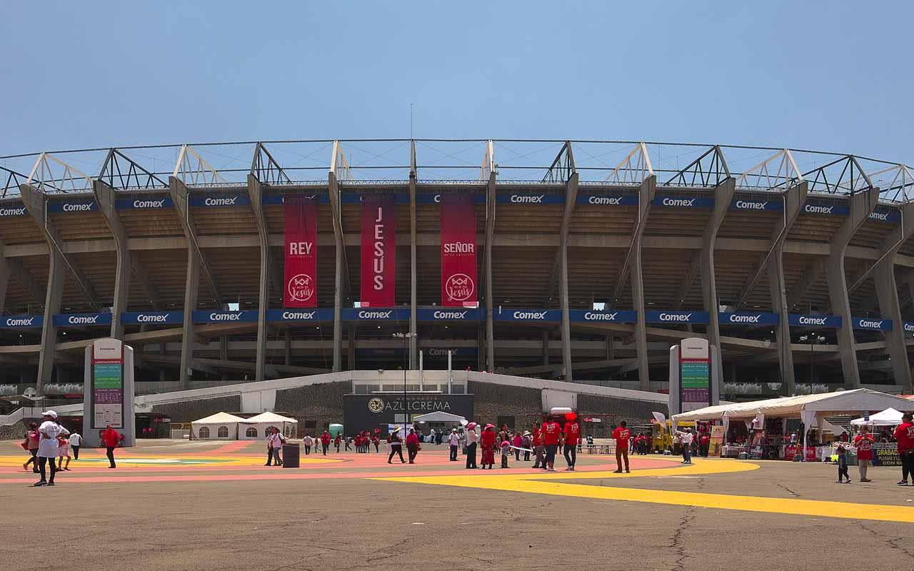 08º - Estadio Azteca - Mexico City (Mexico)