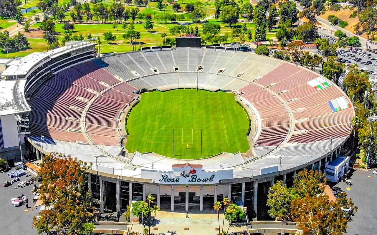06th - Rose Bowl Stadium - Pasadena (USA)