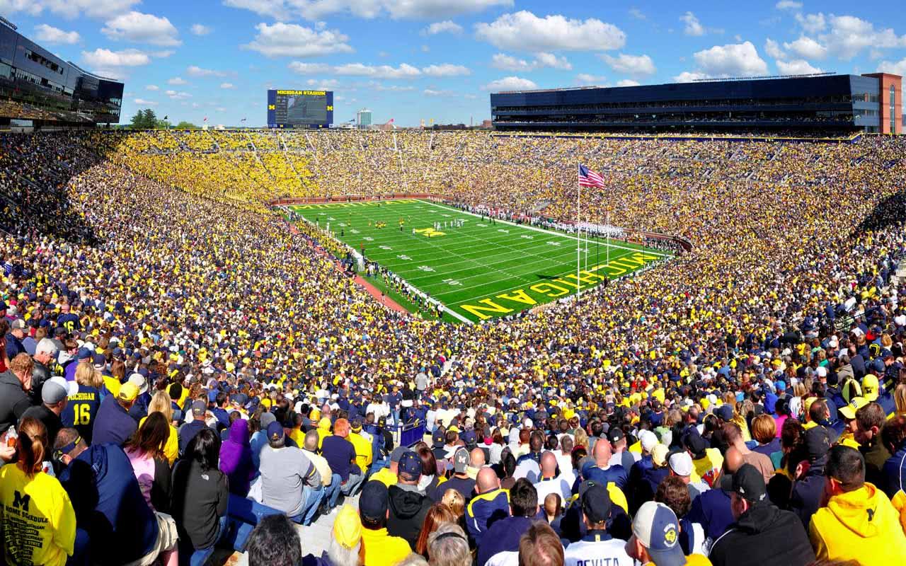 2nd - Michigan Stadium - Michigan (USA)