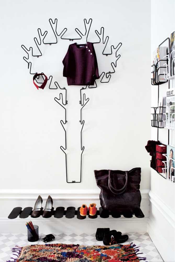Literalmente, uma árvore de roupas