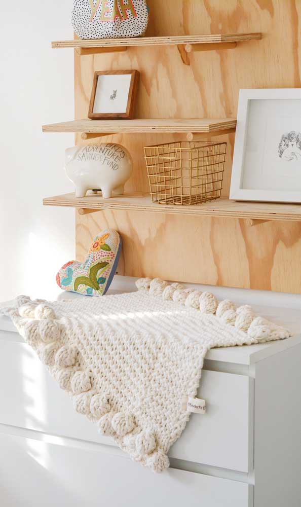 A manta de crochê pode ser um ótimo faça e venda