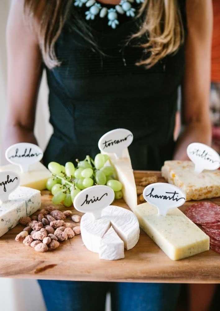 Um corte especifico para cada queijo. Lembre-se disso!