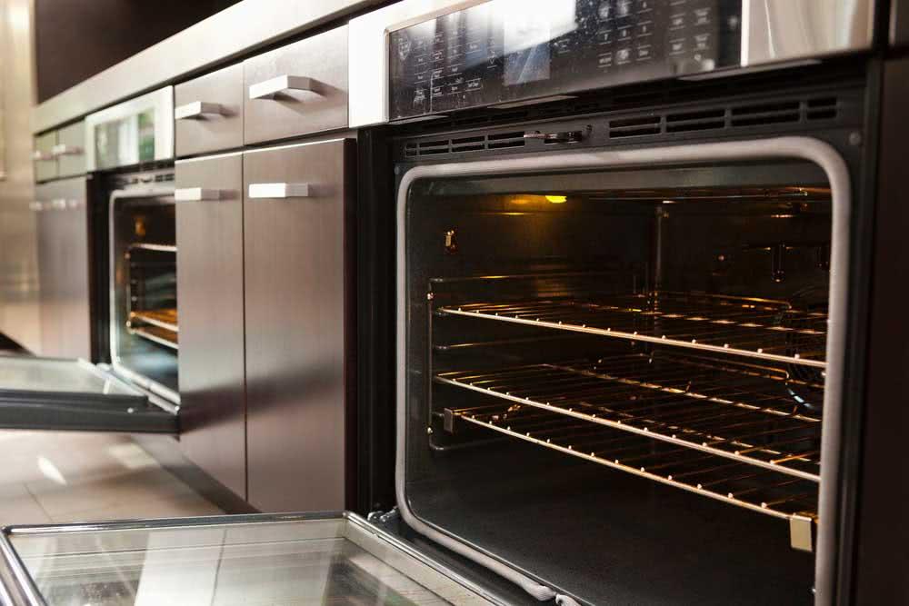 Sterilize glass in the oven