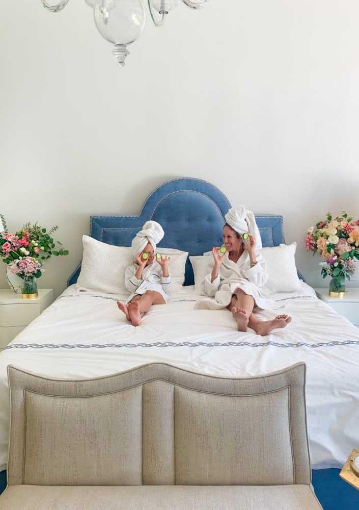 Olha que amor: um Spa Day mãe e filha!