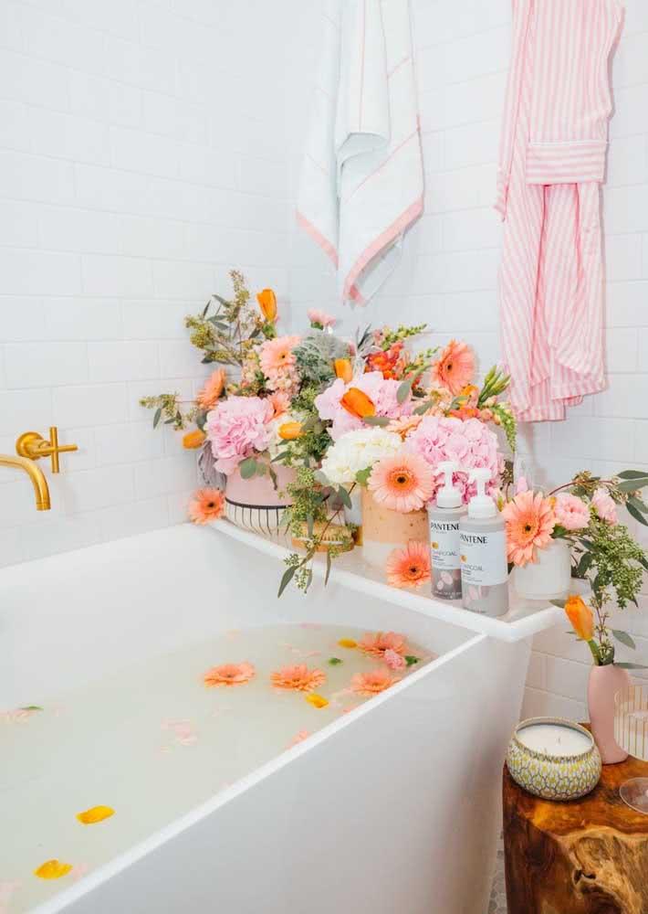 Spa Day na banheira!