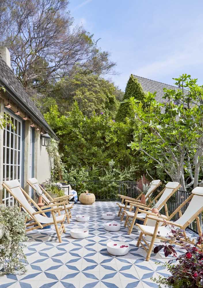 Spa Day na varanda para curtir a natureza e a luz do sol