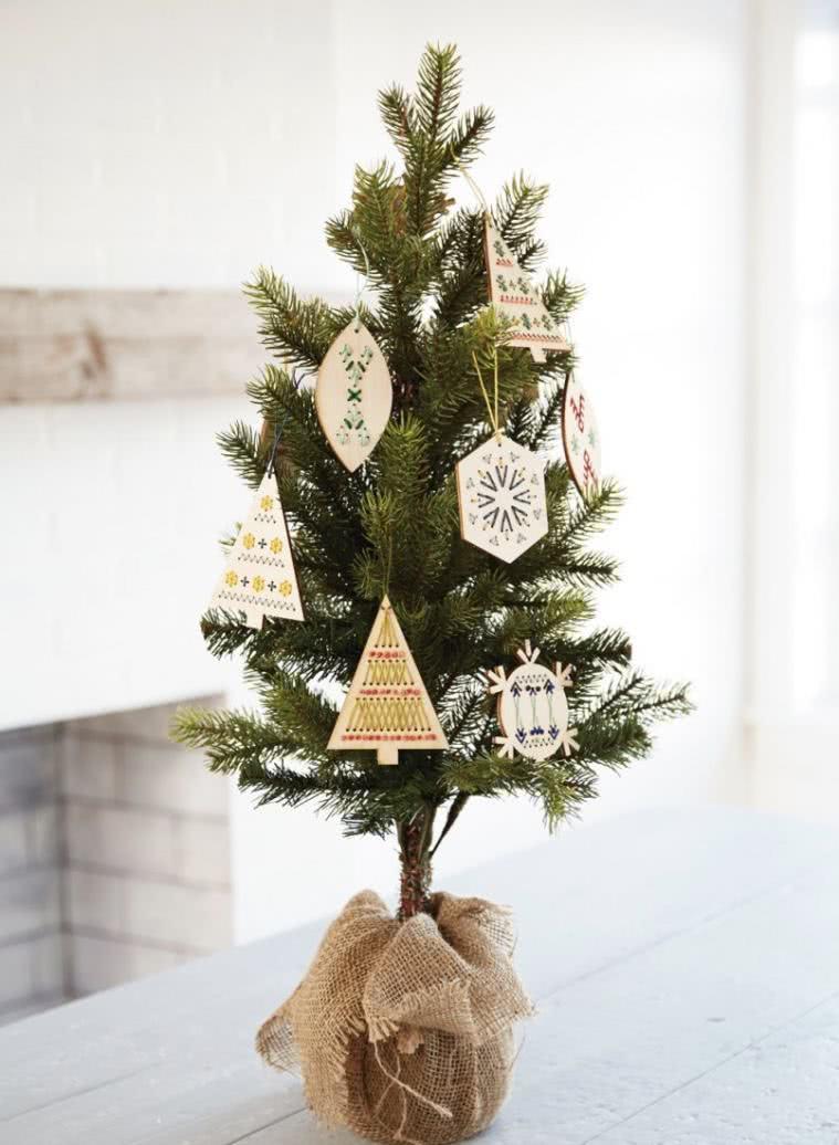 Mini árvore de Natal