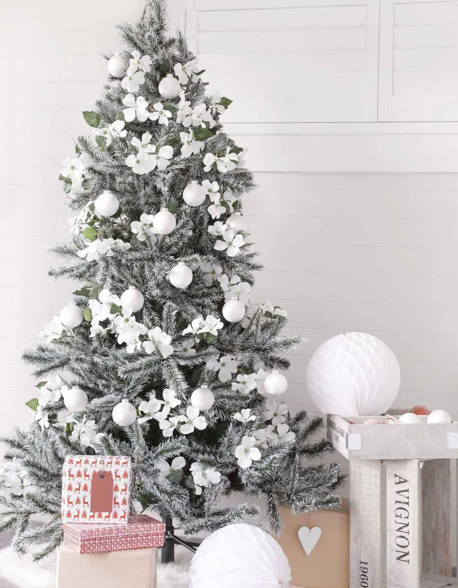 Árvore de Natal prata