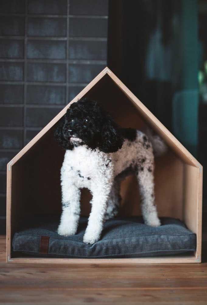 A clássica e simples casinha de madeira que nunca decepciona