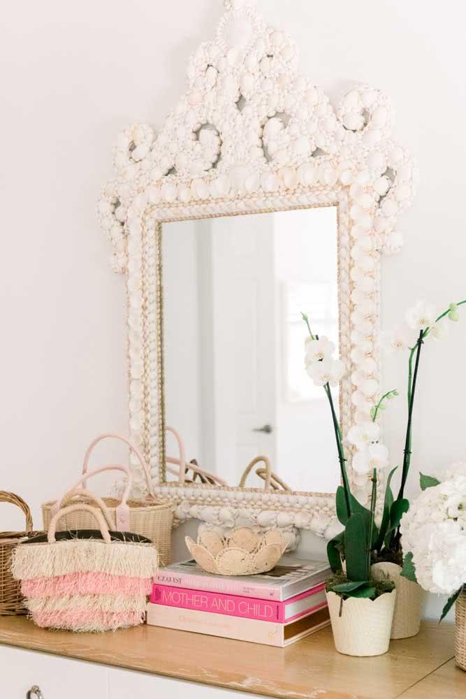 Pensou um espelho desses no seu hall de entrada?