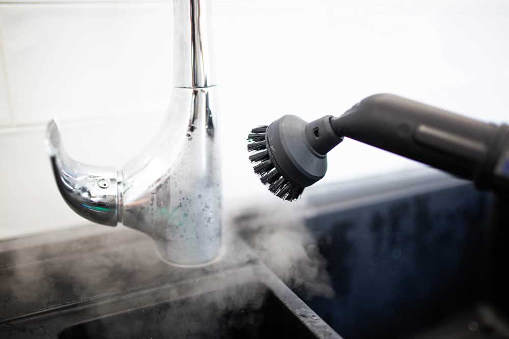 Types of steam cleaning