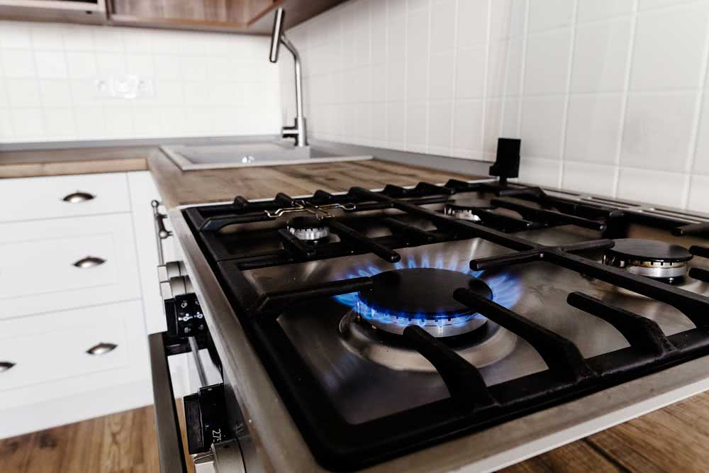 How to unclog stove top