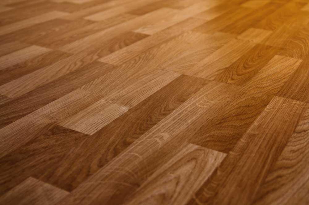 Wooden carpet floor