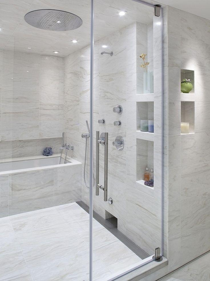 Idea for large bathrooms with clean proposal.