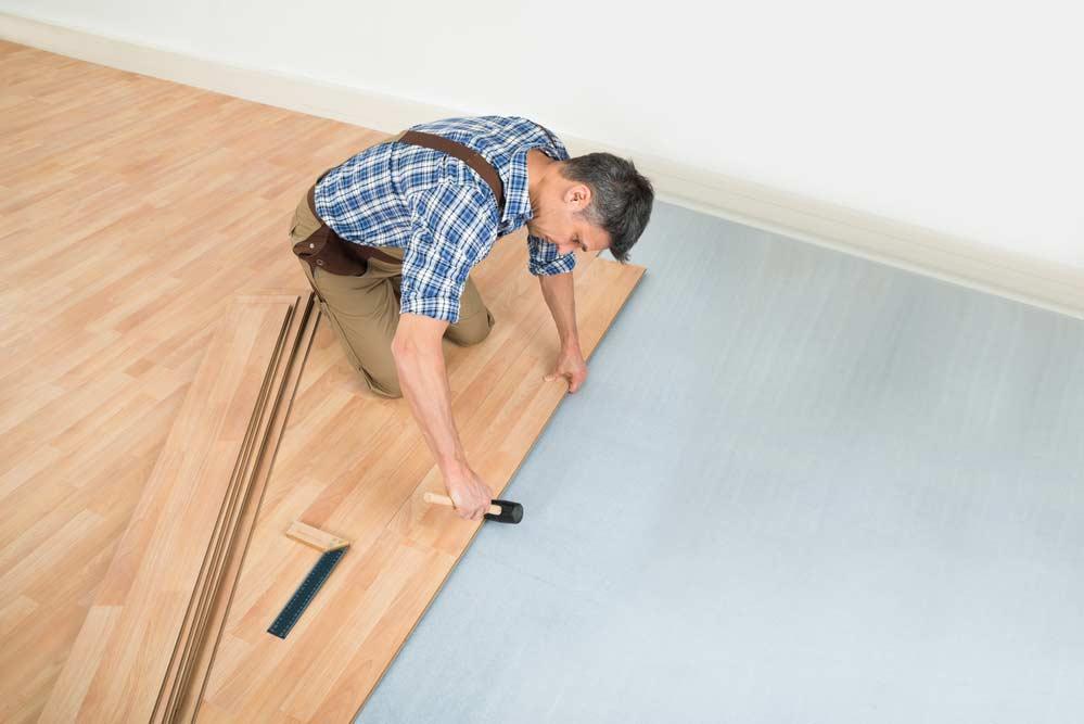 How to lay laminate flooring: installation