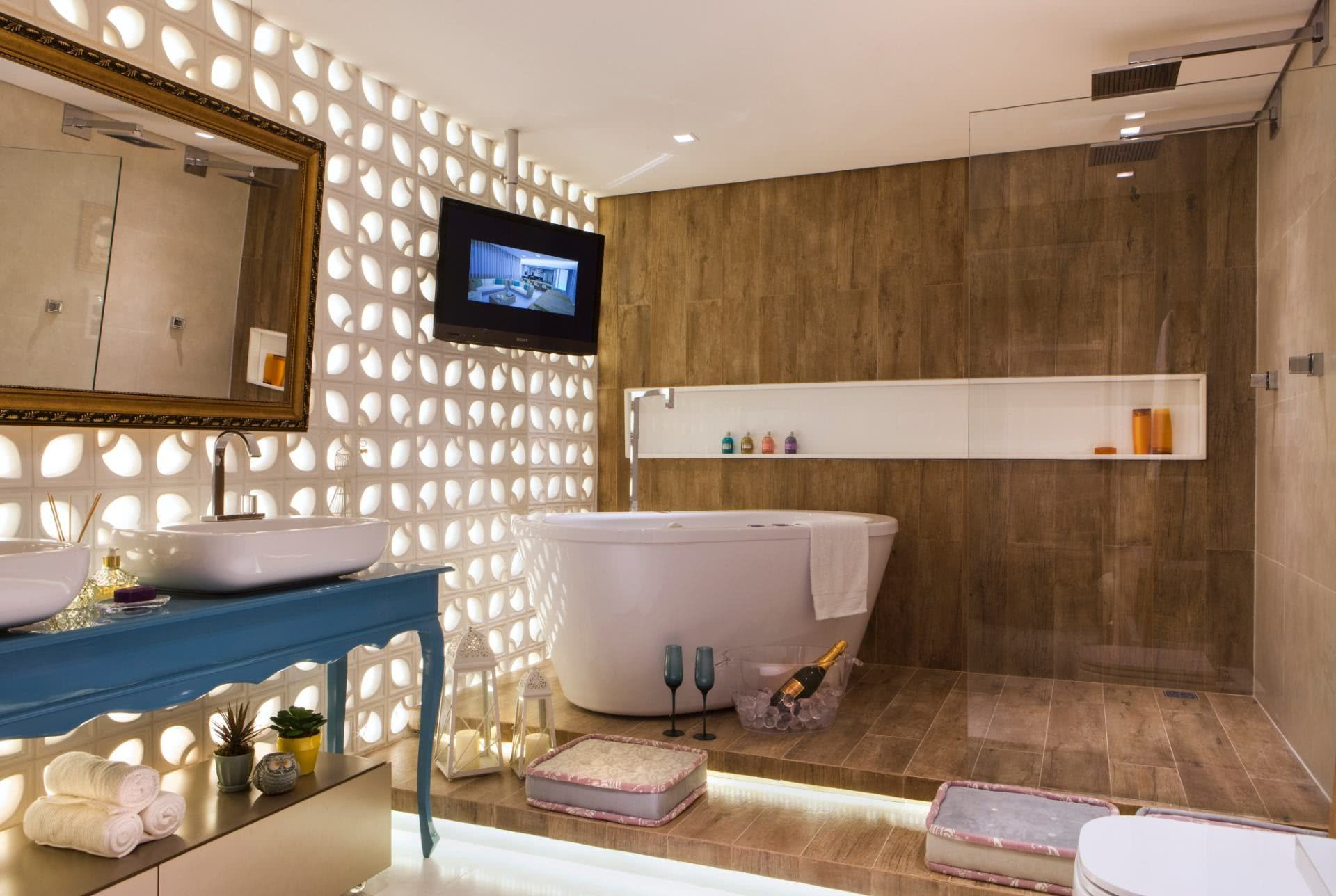 Modern and elegant bathroom for those who like to relax
