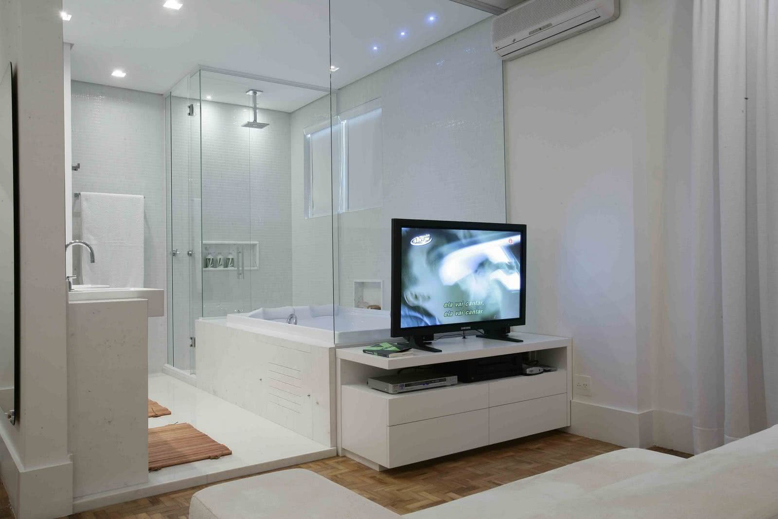 And why not invest in an open bathroom?