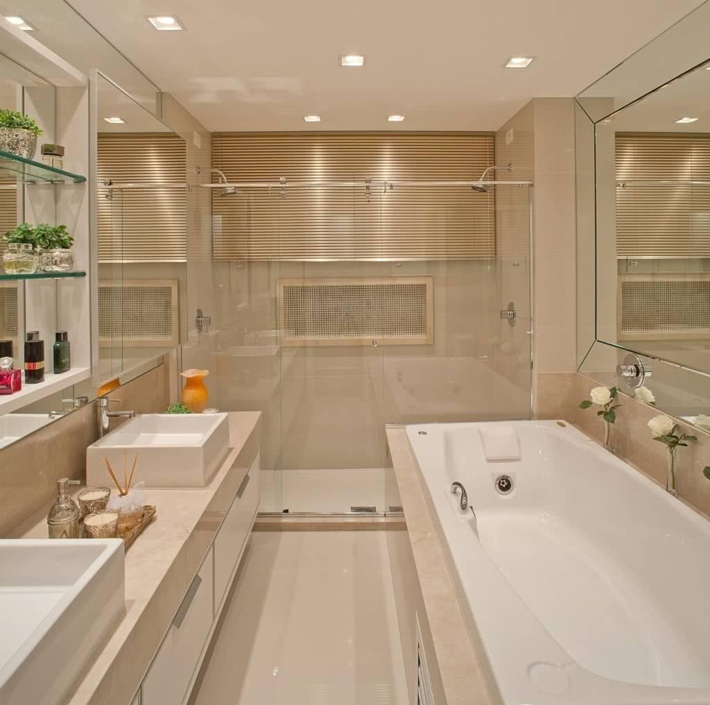 Clean style bathroom