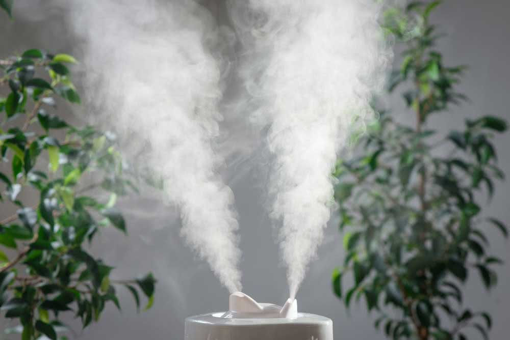 Types of air humidifier