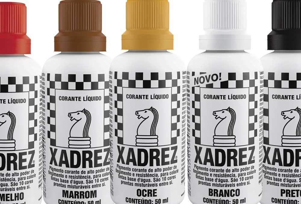 Checkered paint