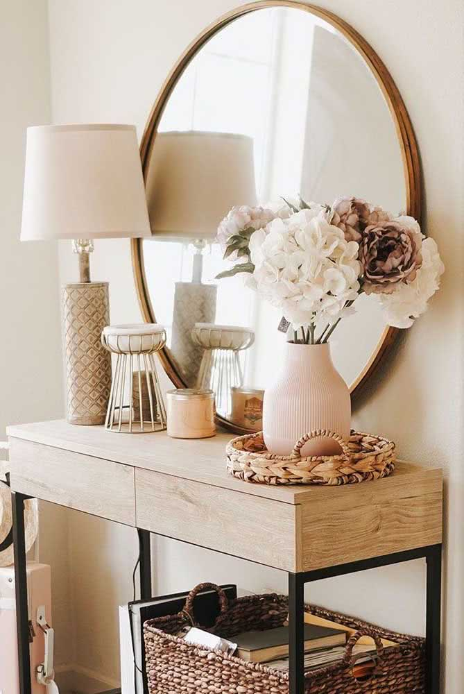 It also has space for the beauty of peonies in the boho decor