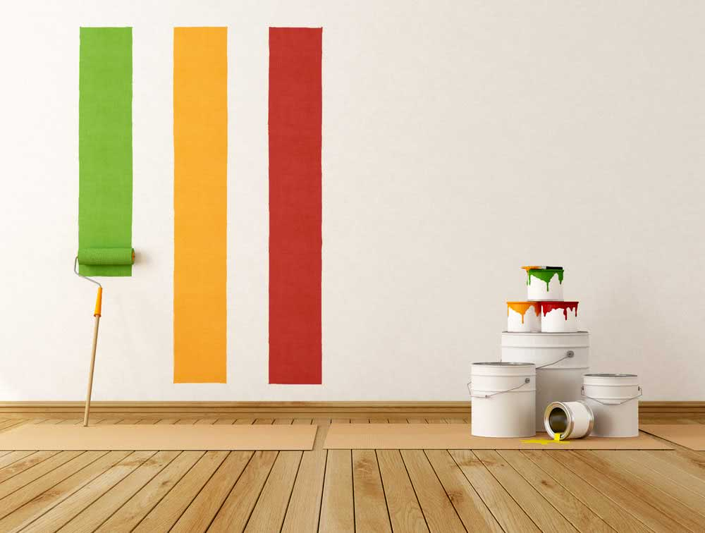 Types of paints to paint the wall