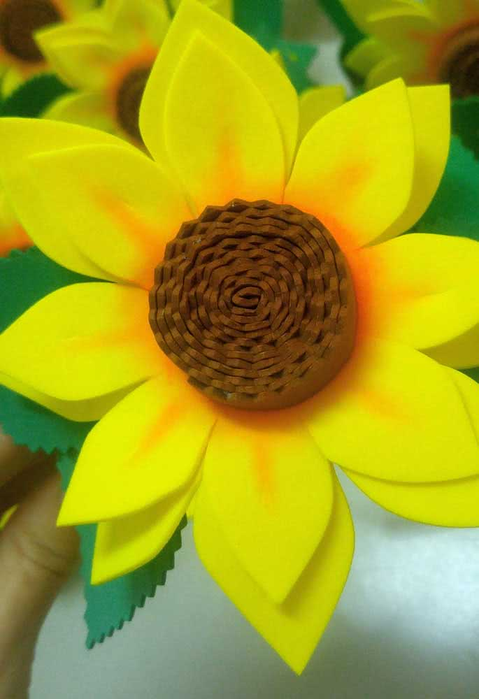 EVA sunflower: gift, decorate, sell ... options abound!