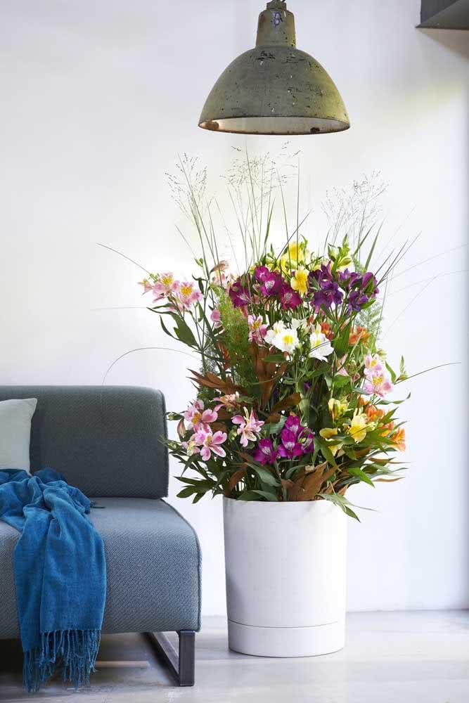 A grandiose flower arrangement, literally!