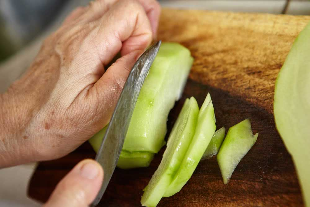 How to prepare chayote
