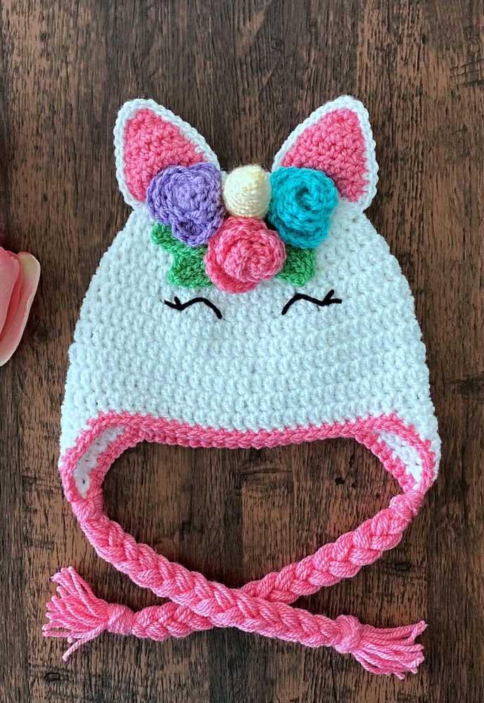 The cutest unicorn cap in the world!