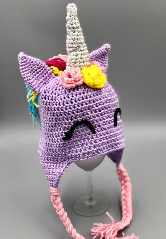 Choose the colors for your crochet unicorn and be happy!