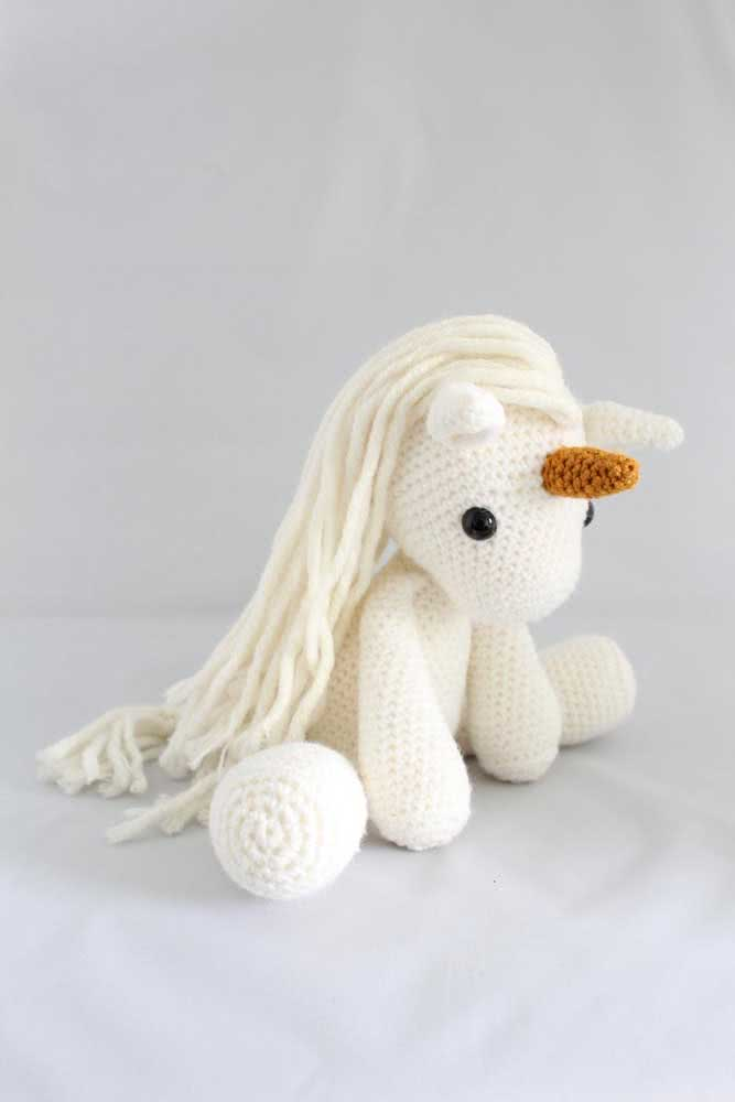 But if you prefer, bet on a crochet unicorn all white