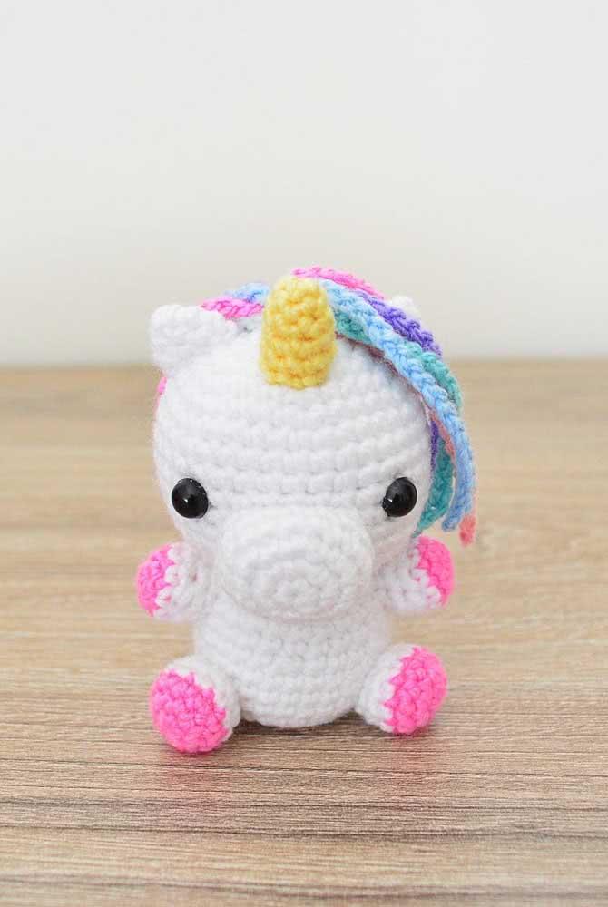 A baby unicorn to make you smile!