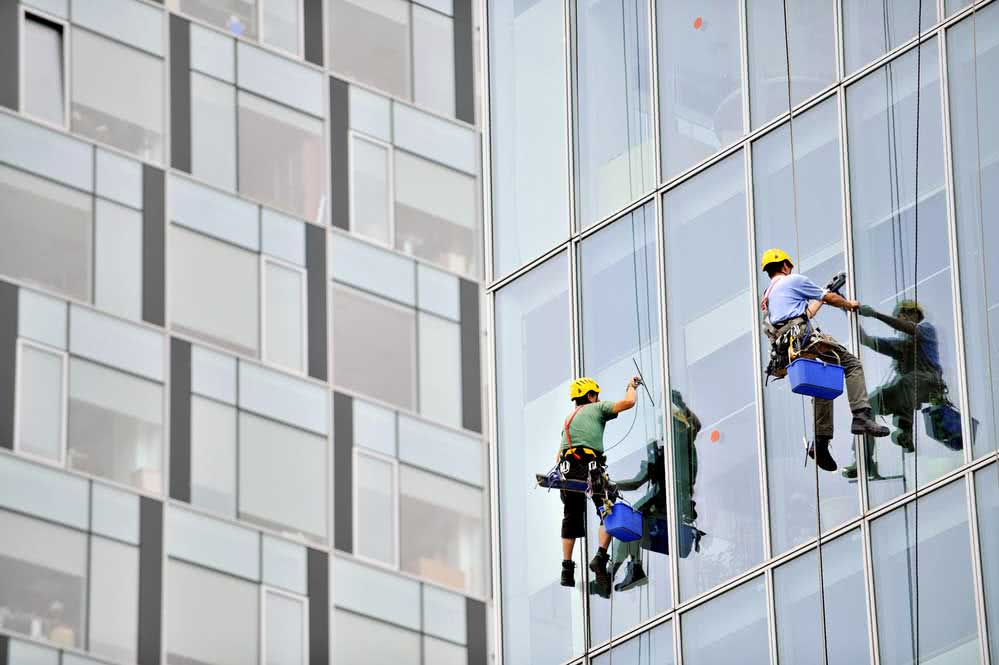 Facade cleaning techniques