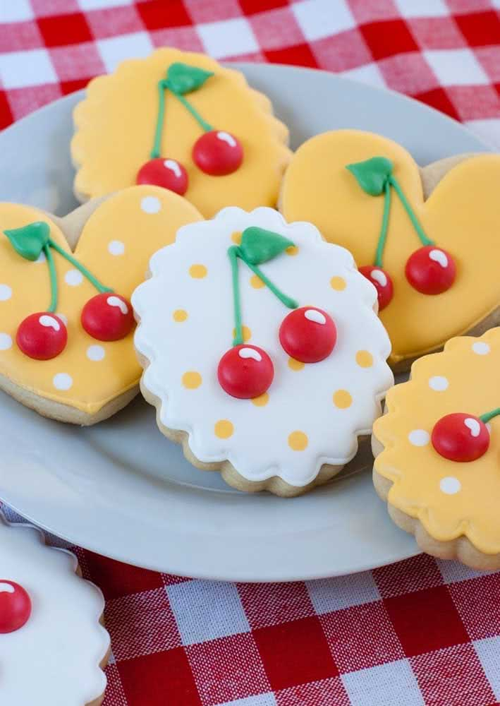 Party-themed cookies