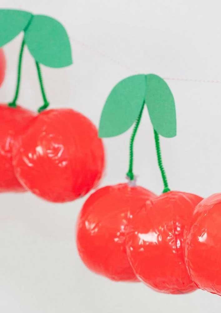 Balloon cherries!