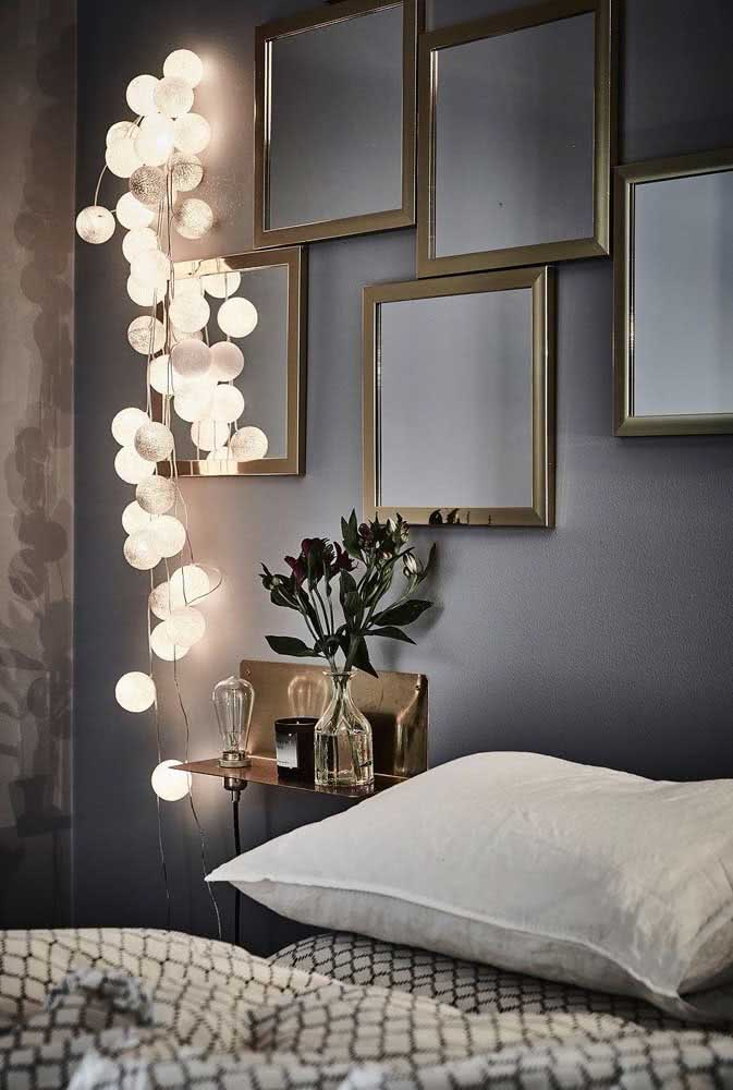 Creative lighting for the bedroom